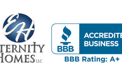 Eternity Homes is BBB Accredited