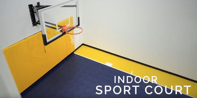 Sports Court in Plymouth